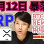 【ビットコイン,リップル,イーサリアム,ネム相場分析】12月12日XRPは暴落する⁉️