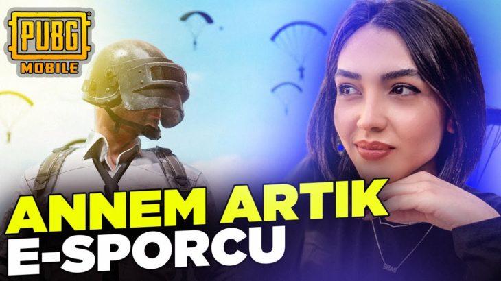 ANNEMLE PUBG OYNADIK!! (BENİ KORUDU)!! | PUBG Mobile