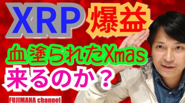 【仮想通貨BTC, XRP, XLM, NEM相場分析】XRP爆益🎅血塗られたXmasは来るのか⛄️🦌