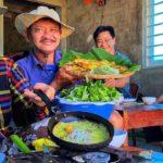 Cha Với Mẹ Dành Nhau Làm Bánh Xèo Miền Trung Bán Cho Ông Nội Vui Như Hội | Duy Nisa