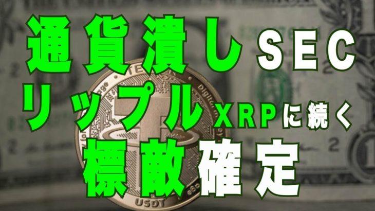 リップル XRP 破滅 SEC 通貨潰し 次はBTC ビットコイン ETH イーサリアム とこいつだ!?アルトコインは壊滅なのか?2021年度アメリカ中心に大暴落に備えるべし!あっちゃん