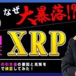 """【投資】XRP""""超""""大暴落!リップル社が提訴される!?Rippleは証券なのか?なぜ、パニック売りが発生したのか?原因を独自検証してみました!"""
