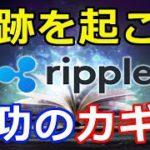 仮想通貨リップル(XRP)奇跡を起こす!リップル社とXRPの大成功のカギはコレだ!