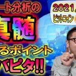 【仮想通貨&ビットコイン】止まるポイント的中!!からの約60万円幅の爆益!!