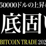 【BTC】底固い!50000ドルまでの上昇に期待!【ビットコイン 仮想通貨相場分析・毎日更新】