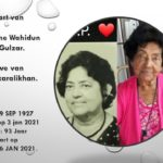 Uitvaartdienst en Begrafenis van Mevr.Hélène  Wahidun Nisa Gulzar.