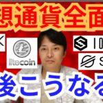【仮想通貨ビットコイン, リップル, ライトコイン, ETH, XLM, NEM, IOST】仮想通貨全面高、今後こうなる☝️