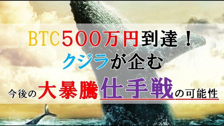 仮想通貨FX:テスラ砲!クジラが企む今後の大暴騰仕手戦の可能性