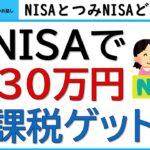 NISAとつみたてNISAのどっちがいい?NISA→新NISA→つみたてNISAで1530万円の非課税枠がもらえます。どっちが得か、計算して、考察します!!