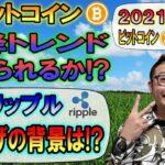 【ビットコイン&リップル】ビットコインは下降トレンド抜けるまで我慢!!リップル爆上げの背景は!?