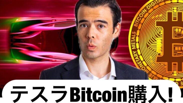 テスラ、ビットコイン購入、アルトコインに注目!