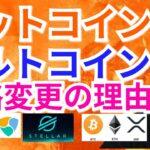 【仮想通貨BTC, ETH, XRP, XLM, IOST, NEM相場分析】ビットコイン&アルトコイン 戦略変更