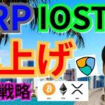 【仮想通貨BTC, ETH, XRP, XLM, NEM, IOST】リップル&IOST爆上げ後の戦略
