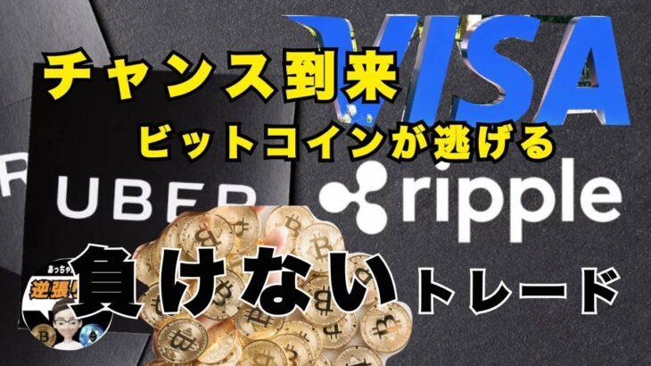 ビットコイン VISA Master 全吸収 リップル XRP 春先の冬眠 トレード リップル XRP 増えない 億り人を目指すためにコツコツ ショートスリーパー あっちゃん 今日は惨敗
