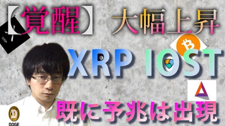 【仮想通貨ビットコイン,リップル,XEM,IOST,DOGE,BAT】XRP覚醒で大幅上昇の可能性!!