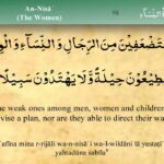 004   Surah An Nisa by Mishary Al Afasy (iRecite)