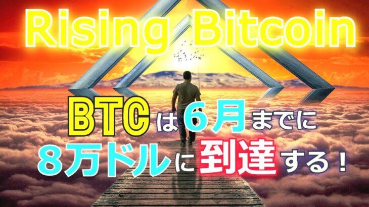 ライジング・ビットコイン~BTCは6月までに8万ドルに到達する!!