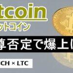 【ビットコイン×ETH×LTC×BCH】爆上げは近い。上昇トレンド再開間近。