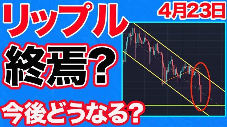 【必見です】リップルXRP暴落…。市場全体が下げ基調で今後どうなる?今後の完璧な立ち回り方法を包み隠さず公開します。