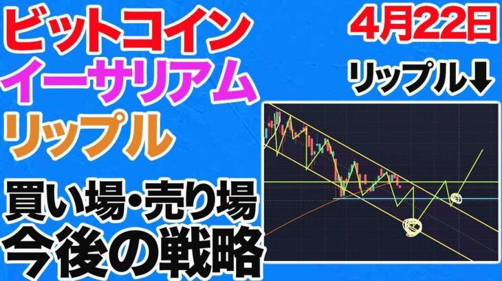 【大暴落の予兆?】仮想通貨市場が調整局面。ビットコイン・リップルは今後どうなる?今後の稼げるポジション取りをプロが提供します。