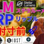 【仮想通貨BTC, ETH, XRP, XLM, IOST, ADA】ステラルーメン&リップル発射準備🚀🌃