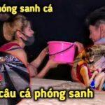Chợ Đêm Ở Thái Lan, Bên Đây Thả Cá Phóng Sanh Bên Kia Câu Cá Phóng Sanh