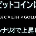 【ビットコイン ×ETH × GOLD】この下落はただの調整で全く不安になる必要はないです。6月前半に上昇トレンドが再開します。近々大きい反発がきます。