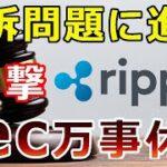 【暗号通貨】リップル(XRP)提訴問題に進展!『リップル社の反撃』SEC追い込まれる