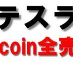【テスラ】ビットコイン全部売却!?イーロンマスクやりたい放題!
