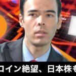 ビットコイン絶望、日本株も危険?