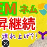 ネム(NEM)上昇継続‼️乗るべき⁉️Symbolも連れ上げ⁉️【仮想通貨 BTC ETH XRP XEM XYM】