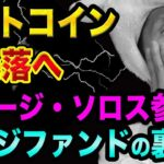 ビットコインは大暴落する、東京オリンピックに要注意【ジョージ・ソロス参入は喜べない?】ヘッジファンドの裏話と仮想通貨投資
