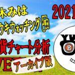【ライブ仮想通貨チャート分析】2021/8/2 ビットコインからアルトコインまで!!