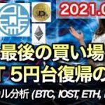 仮想通貨 テクニカル分析【8/20 今後の予想(BTC、IOST、ETH、PLT)】