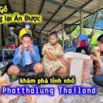Ở Thailand Người Ta Dùng Cây Gỗ Làm Thành Thức Ăn – Khám Phá Tỉnh Phatthalung P2 | Duy Nan #42