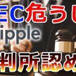 【仮想通貨】リップル(XRP)SEC危うし!『裁判所がバイナンス資料開示を認める』
