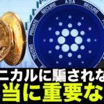 ビットコイン・仮想通貨で今本当に重要なこと!テクニカルに騙されない!