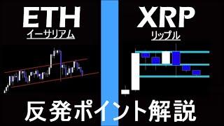 【ETH×XRP】中期的シナリオ解説。複雑なレンジが続く。イーサリアム・リップル。