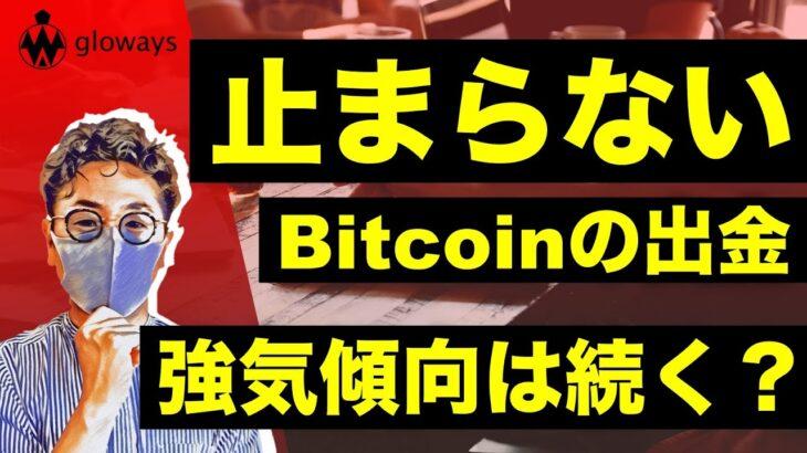 ビットコイン急上昇。データも強気示唆か。【ETH:XRP:IOST:LINK:OMG:DOT】