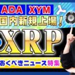 【投資】《祝》XYM・ADAの国内仮想通貨取引所新規上場!XRP・XEMも取り扱いしている豊富なラインナップので話題のビットコイン相談窓口開設と勢いに乗るサクラエクスチェンジをわかりやすく解説!